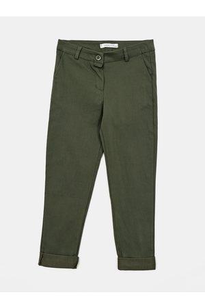Hailys Zelené holčičí kalhoty
