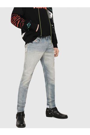 Diesel Světle modré pánské straight fit džíny