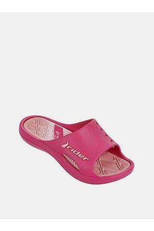 Rider Růžové holčičí pantofle