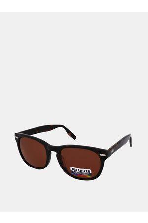crullé Tmavě hnědé sluneční brýle