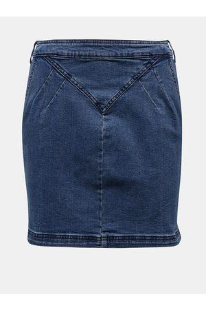 Noisy May Pouzdrová džínová sukně Inci