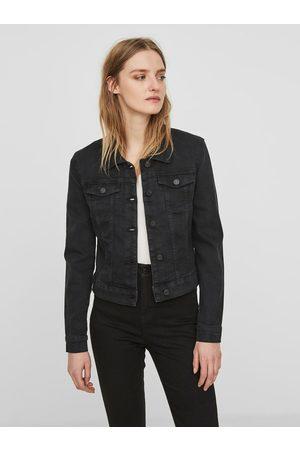 Noisy May Černá krátká džínová bunda Debra