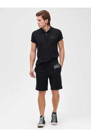 GAP Černé pánské kraťasy Logo mini arch shorts