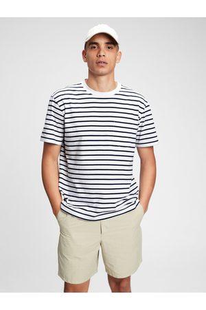 GAP Šedé pánské tričko organic cotton pocket t-shirt