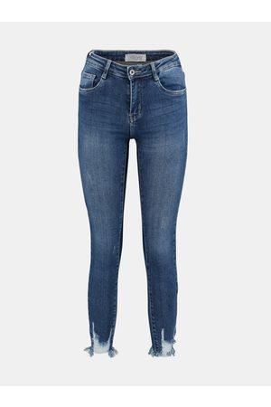 Hailys Modré slim fit džíny