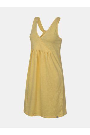 Cubus Žluté dámské letní šaty