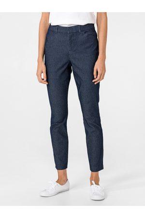 GAP Modré dámské kalhoty Skinny