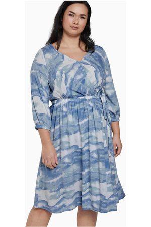 My True Me Tom Tailor Světle modré vzorované šaty