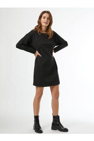 Dorothy Perkins Černé mikinové šaty