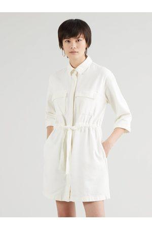 Levi's Krémové dámské džínové šaty