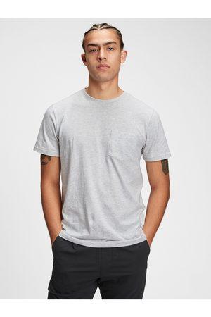 GAP Bílé pánské tričko ss pkt