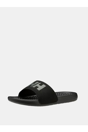 Helly Hansen Černé pánské pantofle