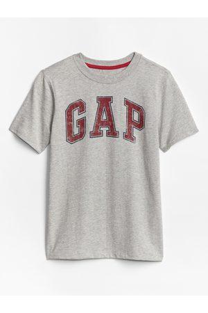 GAP Šedé klučičí tričko Logo