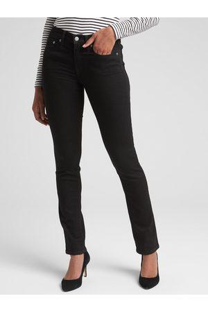 GAP Černé dámské džíny Straight
