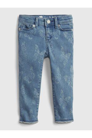 GAP Modré holčičí skinny džíny