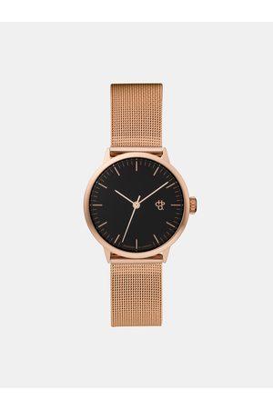 Chpo Dámské hodinky s kovovým páskem v růžovozlaté barvě Nando mini