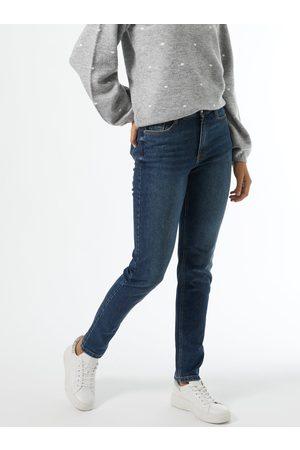 Dorothy Perkins Tmavě modré slim fit džíny