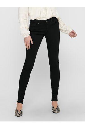 ONLY Černé skinny fit džíny Asmin