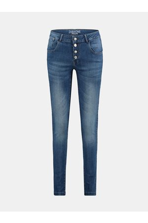 Zabaione Modré skinny fit džíny