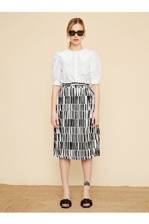 Zoot Černo- vzorovaná sukně Sylvie
