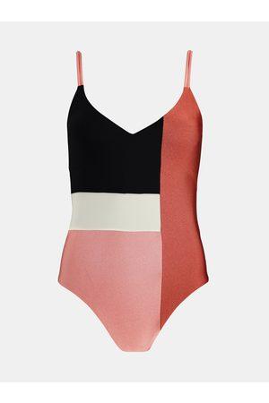 Barts Černo-růžové dámské jednodílné plavky