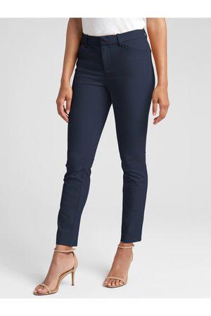 GAP Modré dámské kalhoty Skinny Bi-Stretch