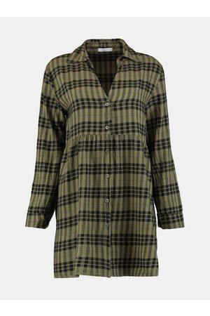 Hailys Kostkované košilové šaty