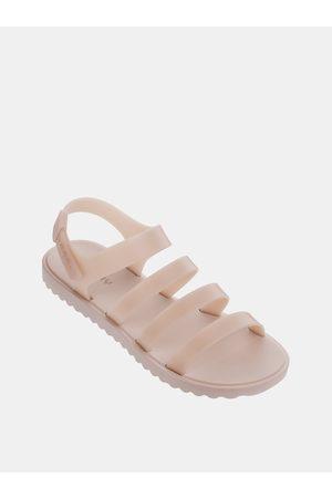 Zaxy Světle růžové páskové sandály Spring