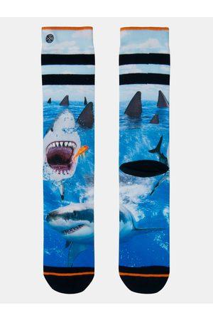 Xpooos Modré pánské ponožky