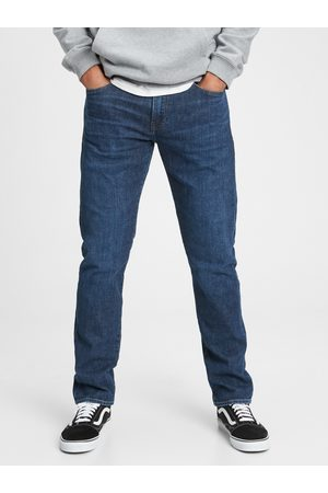 GAP Modré pánské džíny slim lightweig