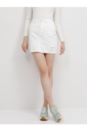 JACQUELINE DE YONG Džínová sukně Rosa