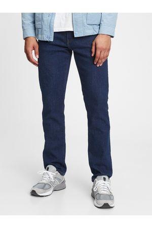 GAP Modré pánské džíny slim generation goo