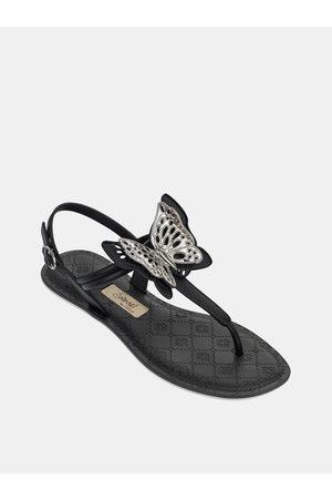 Grendha Černé dámské sandály