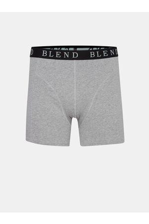 Blend Sada dvou boxerek v šedé a černé barvě
