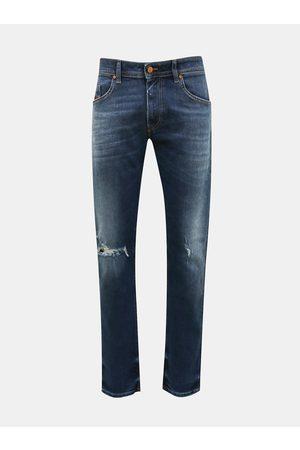 Diesel Modré pánské slim fit džíny