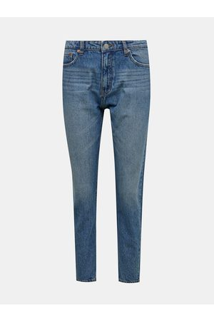 Tally Weijl Modré mom fit džíny
