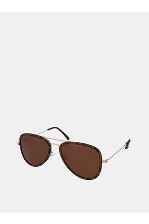 crullé Hnědé sluneční brýle