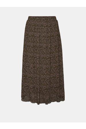 VERO MODA Vzorovaná midi sukně