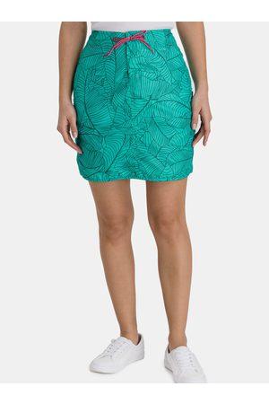 sam 73 Dámská vzorovaná sukně s kapsami