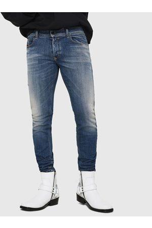 Diesel Modré pánské skinny fit džíny