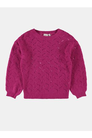 NAME IT Růžový holčičí svetr Nelea