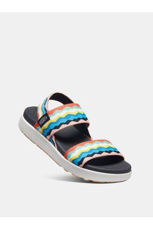 Keen Žluto-modré dámské sandály
