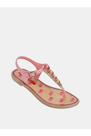 Grendha Růžové holčičí sandály