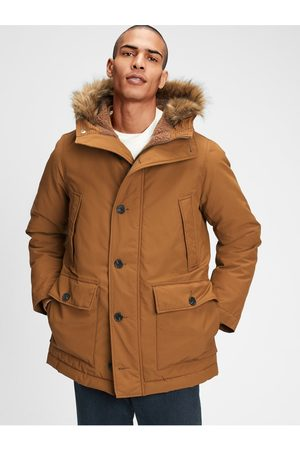 GAP Hnědý pánský kabát
