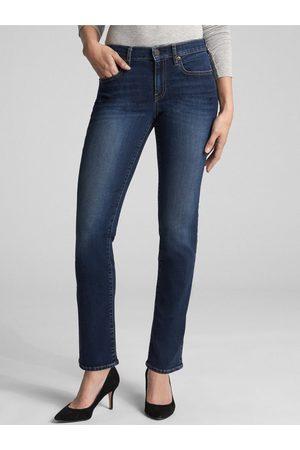 GAP Modré dámské džíny Straight