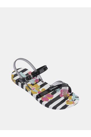 Ipanema Bílo-černé holčičí sandály