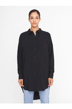 Noisy May Černá dlouhá košile Fiona