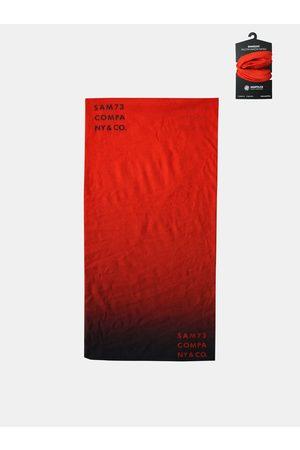 sam 73 Červený multifunkční šátek