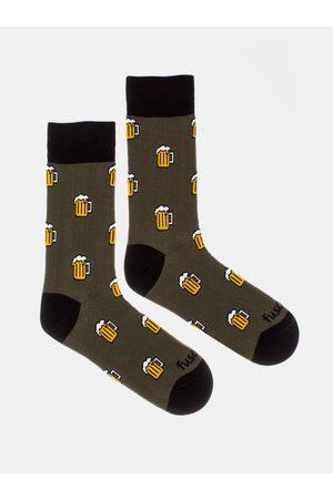 Fusakle Vzorované ponožky Pojď na jedno