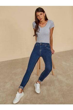 Zoot Modré dámské slim fit džíny